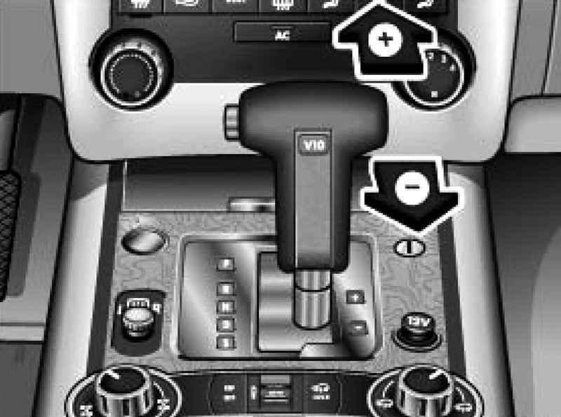 manual gear changes tiptronic selector volkswagen touareg rh automanuals biz