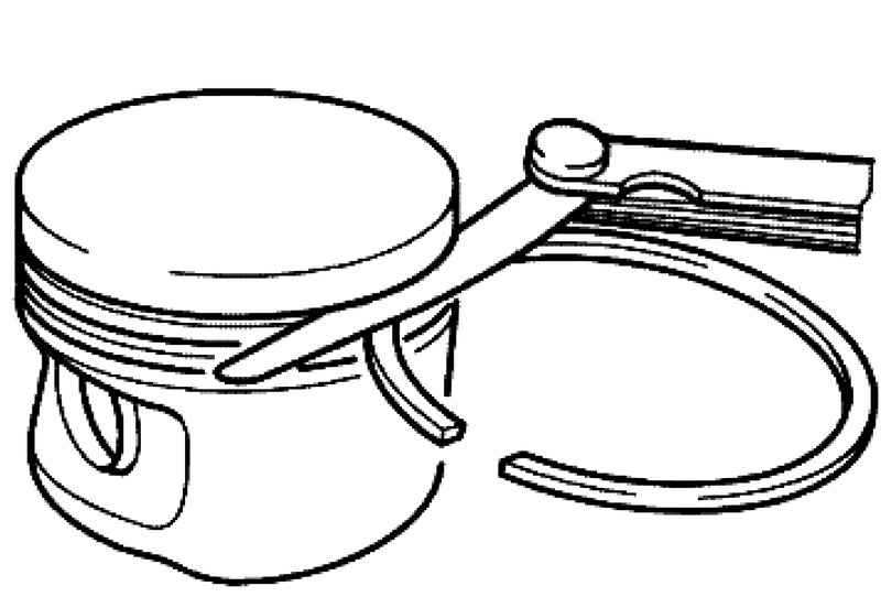 checking the pistons  piston rings and cylinder bore  volkswagen touareg  from 2003 to 2006  the