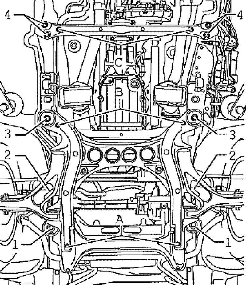Removing Engine Volkswagen Touareg From 2003 To 2006 The Year Of