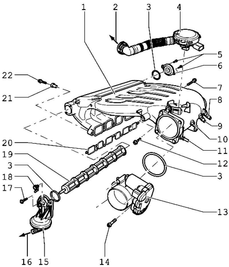 General Information On The Injection System Volkswagen Touareg